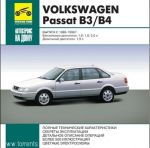 Руководство по Volkswagen Passat B3/B4