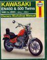Руководство по ремонту Kawasaki EN450/EN 500 1985-2004