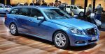 Blue Mercedes-Benz E 350 CGI